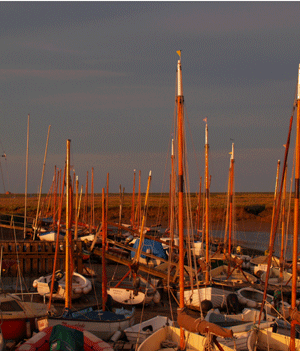 Masts at Morston
