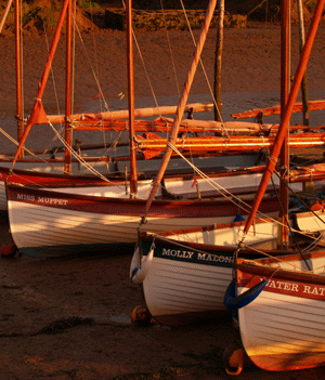 Crab Boats at Morston
